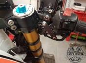 Montage du système de freinage Béringer et des commodos