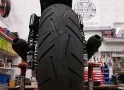 Gros pneu en 180 sur roue de CBR