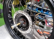Rayonnage de la nouvelle roue Av