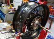 Rayonnage de la roue AR