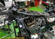Ouverture du moteur