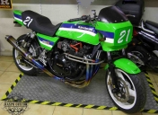 Préparation spéciale pour présentation au grand prix de France moto GP