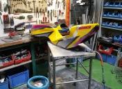 Modification de l'assise en créant une monocoque