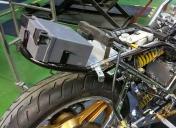 Installation de la batterie et faisceau