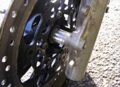 125CRM roues à bâtons (entretoises de centrage)