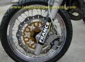 125 CRM roues en 17