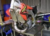 Cadre de 450 CRF / moteur de 500 CR montage Raspo