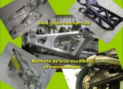 Renforts de bras oscillant (fabrication en atelier, nous contacter par mail)