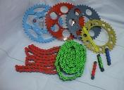 Kit chaîne RK Racing, toutes couleurs possibles