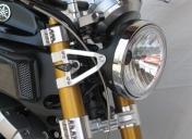 Supports de phare pour fourche inversée