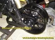Montage de roues de ZZR14