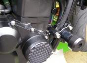 Kit roulette de protection moteur