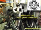 Bracelets fixes LSL avec tubes noirs