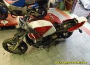 Arrivée de la moto depuis MAYOTTE