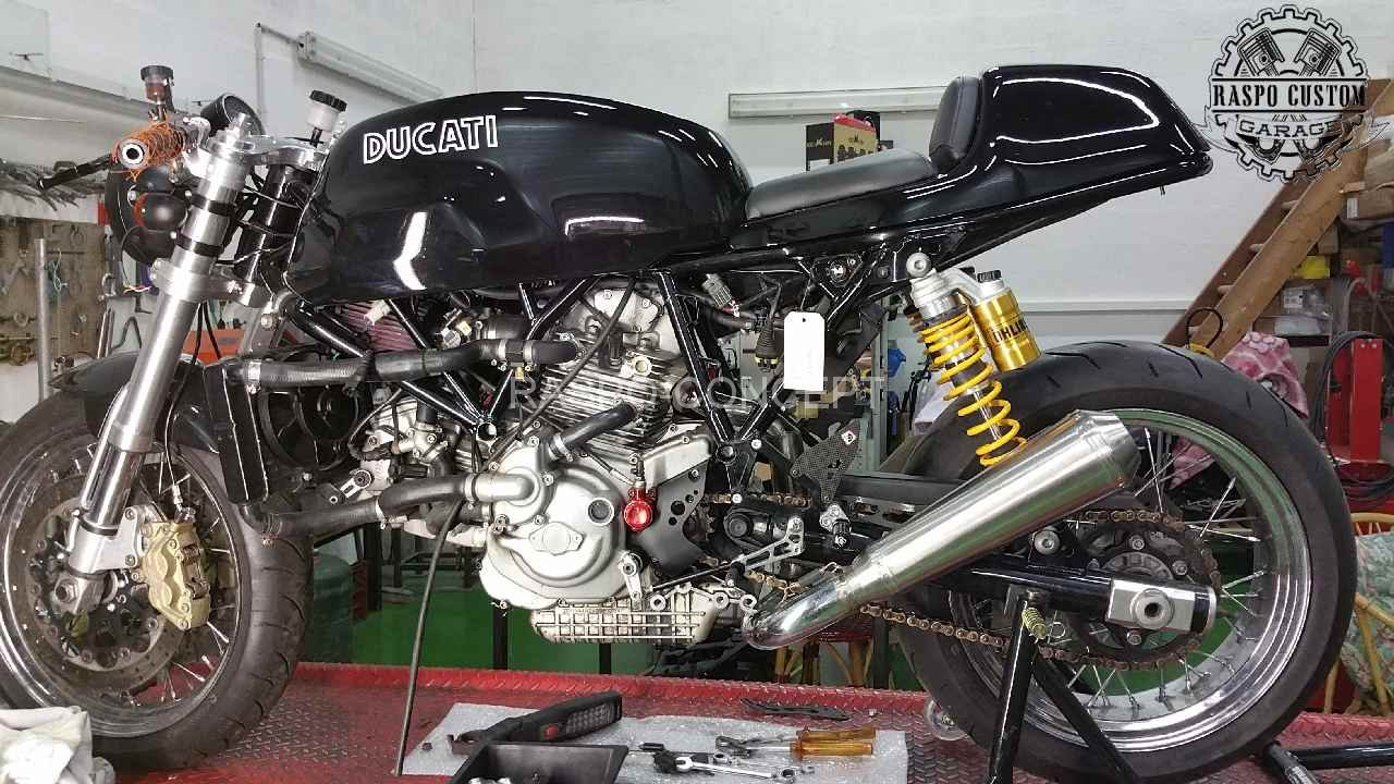 Ducati 1000 sp ciale raspo custom garageraspo custom garage for Garage soudure pot echappement