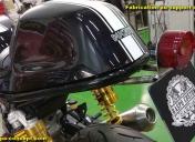 Fabrication du support de feu Ar et plaque