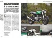 Reportage dans Café Racer N°61