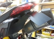 montage sur la moto