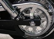 Rayonnage des roues et polissage
