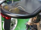 Boncle AR et passage de roue étanche mis en peinture