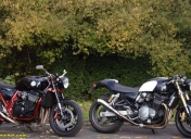 2 beaux café-racer