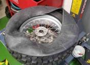 Montage des pneus