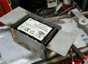 Création d'une boite pour la batterie au lithium