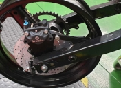 Etrier Ar Brembo et support home made