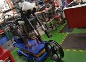 Adaptation de la roue et préparation du freinage