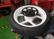 Montage des pneus Michelin PR3