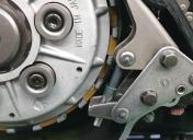 Modification du tendeur de chaine d'alternateur