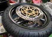Remontage des roues