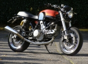 Old school sur Ducati 1000GT