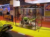 Présentation au salon de la moto de Paris