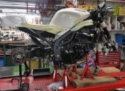 Préparation du montage des roues