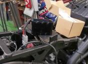 Batterie NI-Fe (Lithium) reçue