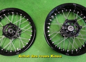 Achat de roue Kinéo (belles, Non !!!)