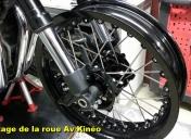 Première mise en place de la roue Av Kinéo