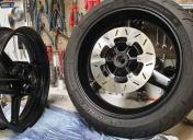 Préparation des roues