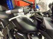 Z 750 refait entièrement suite à un accident