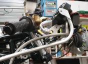 Installation d'un radiateur d'huile