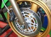 Époxy des roues / Nouveau étriers plus efficaces