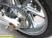 Adaptation de la roue Ar et du support kit chaine