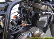 Démontage de la carburation et prépa moteur