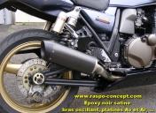 Ligne inox et silencieux HP Corse SPS noir