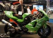 Le ZX12-R de scratch moto qui m'a fait rêver au Mans !!!
