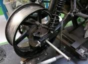 Adaptation d'une roue Ar de 900 CBR