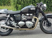 Le Triumph 900 Thruxton de Seb