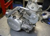 KTM 300 dans cadre alu de 250 CR