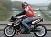 KTM Super Duke 990 prépa Raspo